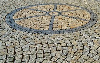 Amenagement exterieur dalle de terrasse technique de pose de pav s en granit - Comment poser pave granit ...